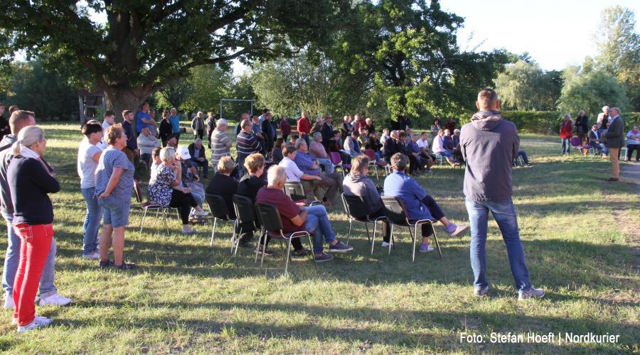 Bürger gegen mehr Windkraft in Gemeinde Kruckow